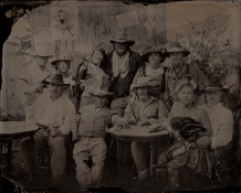 Nevada Gunfighters, 8x10 tintype June 27th 2015