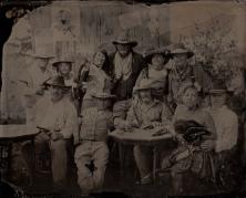 Nevada Gunfighters, 8x10 tintype June 27th 2015