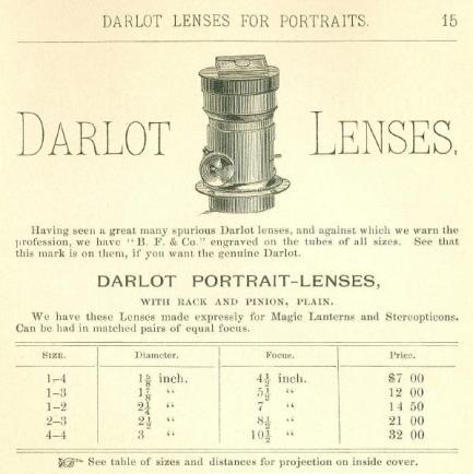 darlot lens