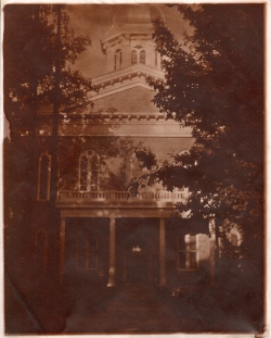 Nevada State Capital hand made albumen paper, 8 x 10 2015