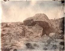 Rock House, Goldfield Nevada 8 x 10 Albumen Print 2015