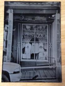 the Red Dog Saloon, hald plate 2015 Virginia City Nevada 2015 - this photo is located in the Nevada historical society